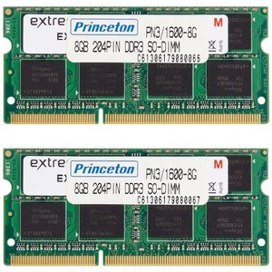 プリンストン DOS/V ノート用メモリ 16GB(8GB×2枚組) PC3-12800(DDR3-1600) 204pin SO-DIMM PDN3|mississippi