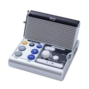 山善(YAMAZEN) キュリオム リモコン付き手元スピーカー AM/FMラジオ搭載 YTR-200 mississippi