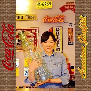 Coca-Cola 超ビッグなコーラのボトル型貯金箱|mississippi
