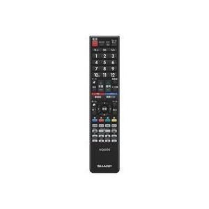 シャープ 液晶テレビ用 リモコン<ブラック系>(0106380480) mississippi