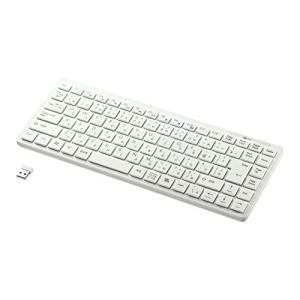 サンワサプライ ワイヤレスキーボード テンキーなし ホワイト SKB-WL27W mississippi
