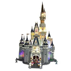 レゴ(LEGO)ディズニー シンデレラ城 (71040) 用 電飾ライトキット Deluxe Lighting Kit for Your Lego D|mississippi