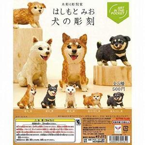 ART IN THE POCKET はしもとみお 犬の彫刻 [全5種セット(フルコンプ)]|mississippi