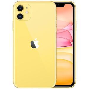 SIMフリー Apple iPhone 11 デュアルSIM 128GB LTE (イエロー) 香港...
