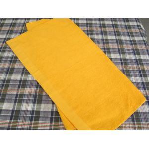 反応染め ゴールドバスタオル 1000匁 96枚セット|misugido