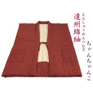 【日本製・遠州綿紬】わた入りちゃんちゃんこ  Mサイズ(身丈83cm)〜tb-54 misugido