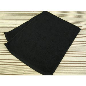 240匁 スレン染め 業務用 黒タオル  360枚セット|misugido