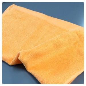 100匁 オレンジ(ゴールド) おしぼり12枚セット 業務用 スレンカラー|misugido