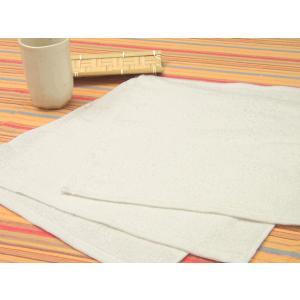 【1200セット】業務用 100匁 おしぼり・白 30×31  misugido