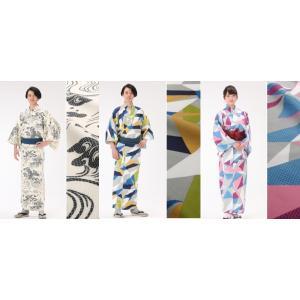 遠州織物を使用した旅館の浴衣と帯のセットです   発売一周年記念として期間限定にて送料無料とさせて頂...