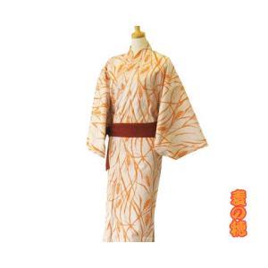 【竹久夢二】大正浪漫浴衣 麦の穂 オレンジ|misugido