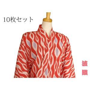 【竹久夢二】大正浪漫浴衣〜波織(赤)10枚セット|misugido