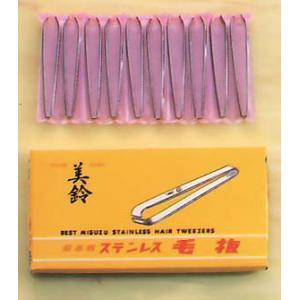 858 ステンレス 毛抜 75mm|misuzu-store