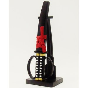 ニッケン刃物 関伝の美 日本刀はさみ 掛け台付き SW-28 misuzu-store