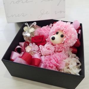 【送料無料】 フラワーギフト  プリザーブド 母の日 バレンタインデー お見舞い 誕生日(pri_arrange07 )|misuzu1187