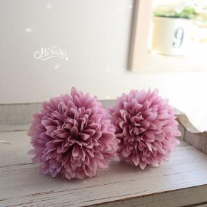 2個セット Lavender マム髪飾り 着物 和装 袴 七五三 成人式 和婚|misuzu1187