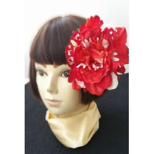 ピオニー髪飾り ヘアパーツ 浴衣 着物 和婚 造花 リアル misuzu1187