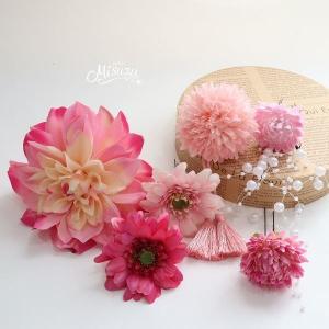 ロマンザ 成人式 七五三・和婚 髪飾りセット 卒業式 袴 振袖 着物 和装ヘア1-10312016d|misuzu1187