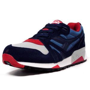 diadora N.9000 NYL WHT/NVY/RED (160827-60072) mita-sneakers