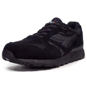 diadora N.9000 NYL BLK/BLK (160827-80013) mita-sneakers
