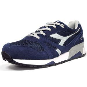 diadora N.9000 NYL NVY/WHT (160827-C4983) mita-sneakers