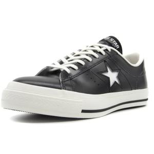 CONVERSE ONE STAR J BLK/WHT (3...