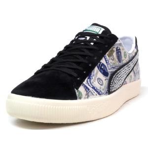 Puma CLYDE BLK/NAT/BLU/ORG (364303-02) mita-sneakers