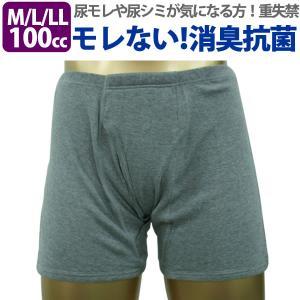 男性用 尿漏れ 失禁パンツ トランクス しっかり安心タイプ M・L・LLサイズ  33015  1枚 mitaka-japan