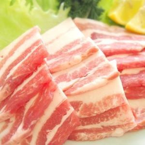 【冷凍】四万十こめ豚王 バラ肉 焼肉用 300g 真空|mitaniya