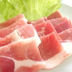 【冷凍】高知県産 四万十こめ豚王 モモ 焼肉用 500g 真空|mitaniya