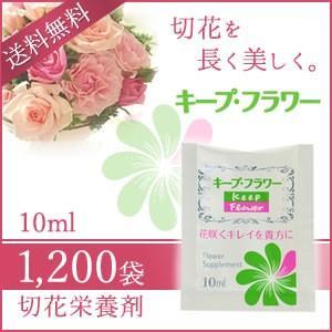 切花栄養剤/切花延命剤 キープ・フラワー 小袋 ...の商品画像
