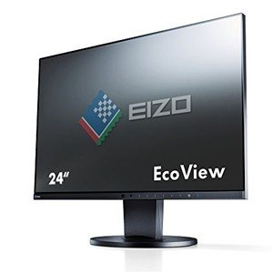 【新品・在庫あり】EIZO◇FlexScan EV2450-BK   [23.8インチ ブラック]  【送料無料!(沖縄・離島は除く)】 mitene