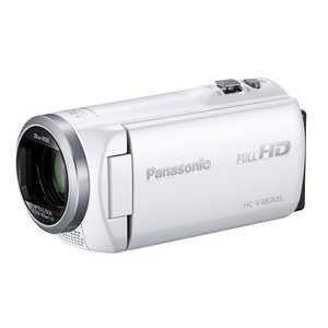 HC-V480MS-W [ホワイト]  パナソニック デジタルハイビジョンビデオカメラ   【在庫即納・送料無料!(沖縄、離島除く)】