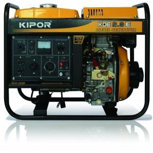 【新品★送料無料・(沖縄、離島除く) 】 KIPOR ディーゼルエンジン発電機 KDE2.0E(60Hzモデル) 西日本地域専用 KDE20E-60HZ mitene