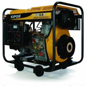 【新品★送料無料・(沖縄、離島除く) 】 KIPOR ディーゼルエンジン発電機 KDE5.0E(60Hzモデル) 東日本地域専用 KDE50E-60HZ mitene
