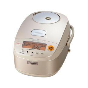 【新品・在庫あり】NP-BE10-NZ ●象印 極め炊き  圧力IH炊飯器(5.5合炊き)  [シャンパンゴールド]  【送料無料(沖縄・離島除く)】|mitene
