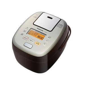 【新品・在庫あり】パナソニック 5.5合 炊飯器 圧力IH式 おどり炊き SR-PA107-T [ブラウン]/送料無料(沖縄・離島除く)|mitene