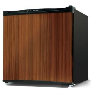 エスキュービズム 46リットル 1ドア冷蔵庫 WR-1046WD [木目調ダークウッド] 一人暮らし 小型冷蔵庫 /在庫有り・送料無料!(配送は本州のみになります) mitene