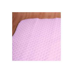 汗取り敷きパッド クイーン155x205cm 麻混 防ダニ・抗菌・防臭|mitibata