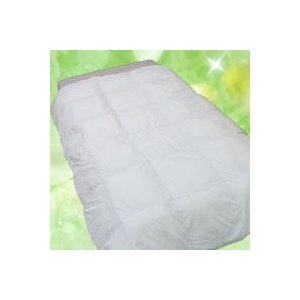 人工羽毛布団 シングル ロング プリマロフト 掛け布団 人工羽毛 150x210cm 2層式|mitibata