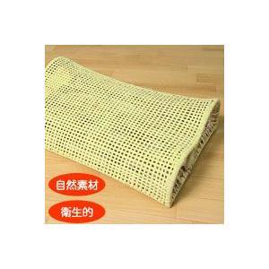 癒し枕 天然藤100% 高級手作り 幅50x奥行き30x高さ12cm|mitibata