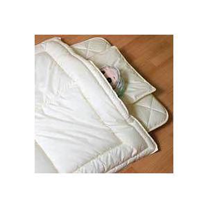 ベビー用 洗える3層敷き布団 ホロフィル綿 固綿着脱式 90x135cm|mitibata