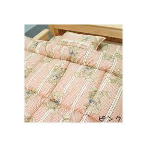 ジュニア用洗える布団3点セット ラインベア ダクロンアクア綿|mitibata