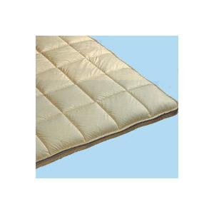 洗える敷き布団 ダブルロング 固綿脱着式 2分割タイプ 140x210cm|mitibata