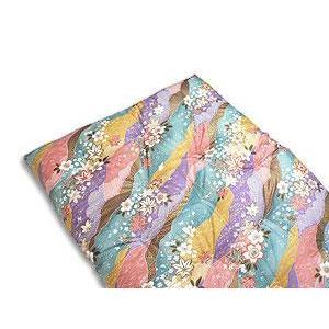 手作り和布団 敷き布団 シングルロングサイズ 約100x210cm|mitibata