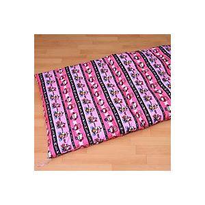 手作り ワンピースxハローキティ ベビー敷き布団 幅70x長さ120cm ポリエステルわた 日本製|mitibata