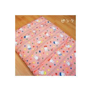 手作り ミニベビーベッド用 ミッフィ― 敷き布団(和布団) 60x90cm|mitibata