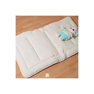 ベビーサイズ 敷き布団 オーガニック羊毛 70x120cm 日本製|mitibata