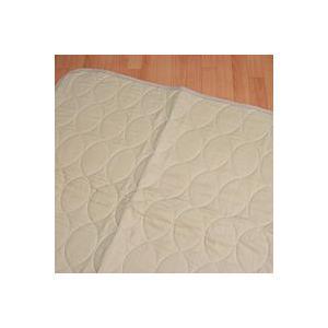 本麻敷きパッド 褥 しとね ダブルサイズ 140x205cm 麻100% 日本製 mitibata