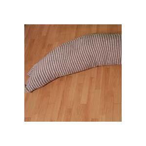 のびのびパイル地 抱き枕カバー ボーダー柄 約32x150cm いろいろな抱き枕のカバーに|mitibata